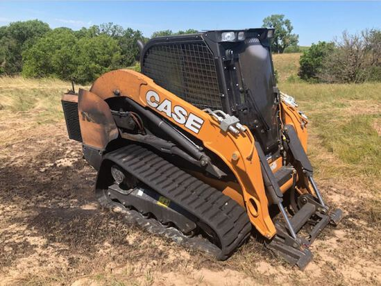 Insurance Claim: 2019 Case TV450 Skid Steer