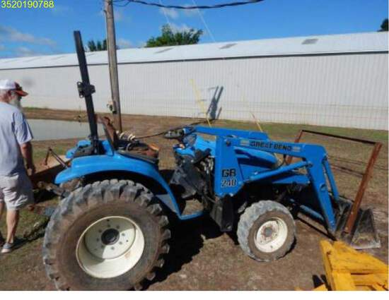 Insurance Claim: New Holland TC29D Tractor