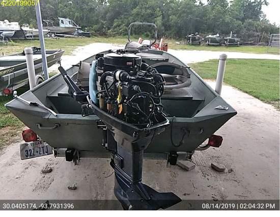 Insurance Claim: 2009 Tohsatsu MD40B Boat Motor