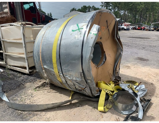 Insurance Claim: 40,000 lbs of Steel Coil