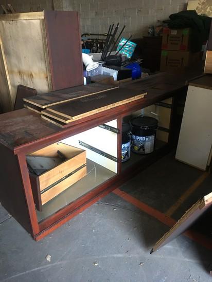 Smoke Damaged Office/Desk Cabinets