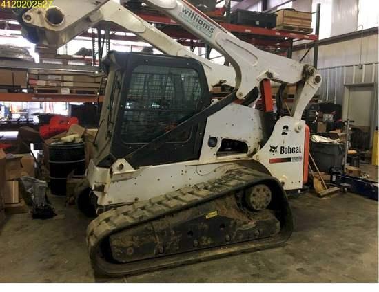 Insurance Claim: 2015 Bobcat T870