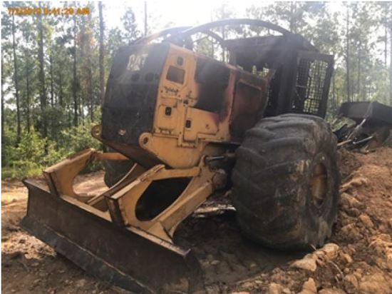 Insurance Claim: 2016 Caterpillar 535D Log Skidder