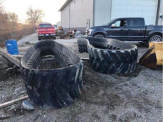 Insurance Claim: 2018 John Deere Rubber Tracks