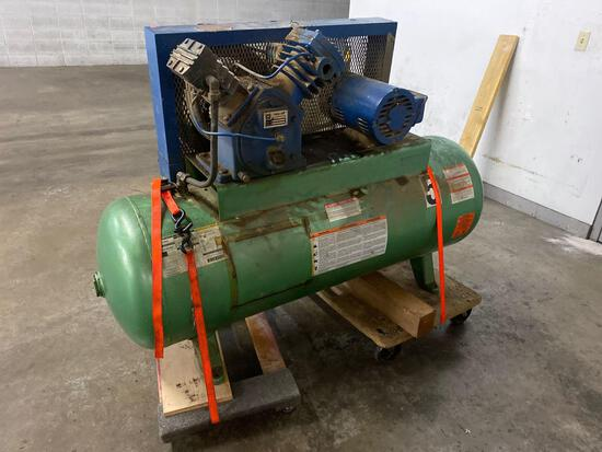 Twin Ait H2380BH Air Compressor with 80 gal Speedaire Tank