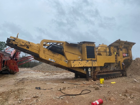 Insurance Claim: 2004 Extec C-12 Crawler Crusher