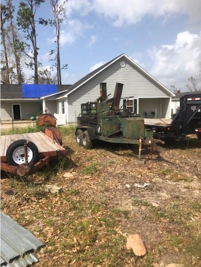 Insurance Claim:06 Reeves Asphalt 750 PumperKettle