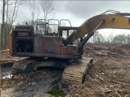 Insurance Claim: 2019 Caterpillar 326FL Excavator