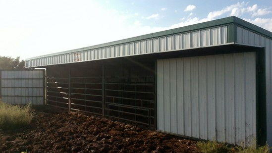 TNT 48' calving shed