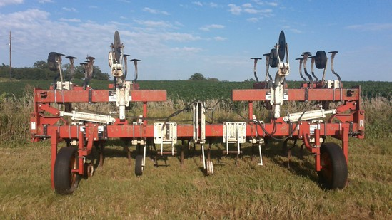 Tebbon 8 row field cultivator