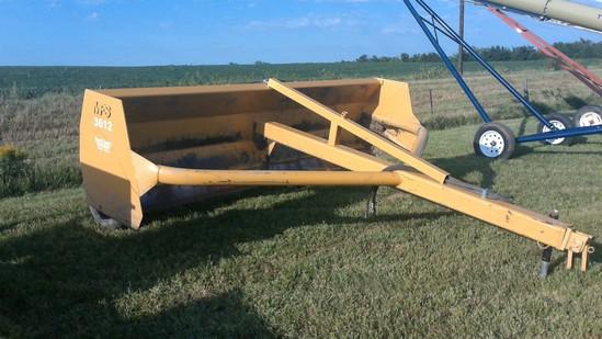 MDS 3612 12' box scraper