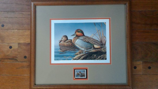 1998 Ducks Unlimited Print by Mark Anderson