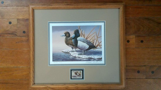 1993 Ducks Unlimited print by Mark Anderson