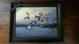 Duck Oil Painting by Mark Anderson