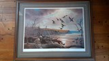 River Bottom Duck Hunt by John C Green