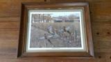 Fenceline Pheasants by Robert Henton