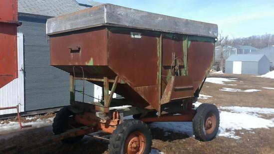 Dakon 185 gravity flow wagon