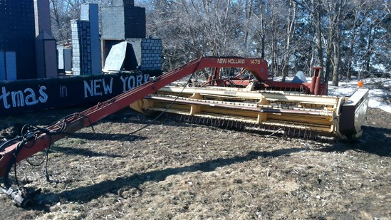 New Holland 1475 Hydroswing