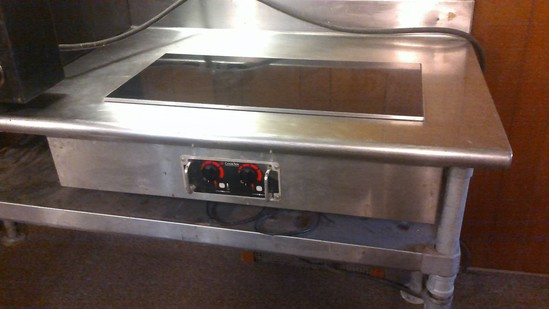 Cook Tek induction cooktop