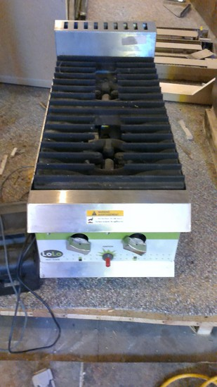 LoLo Hot Plate Gas Double Burner
