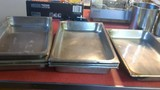 9 stainless steel full size hotel pans