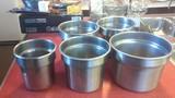 5 Stainless steel steam inserts