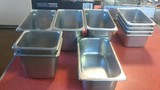 10 stainless steel steam table inserts