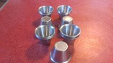25 Stainless steel dipping cups