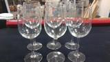Stemmed Wine Glasses 9