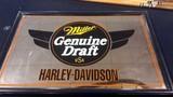 Miller Genuine Draft Harley Davidson 90th Anniversary Reunion Mirror