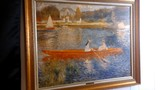 The Rowing Party, reproduction by Pierre Renoir