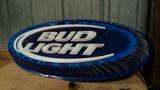 Bud Light light up sign