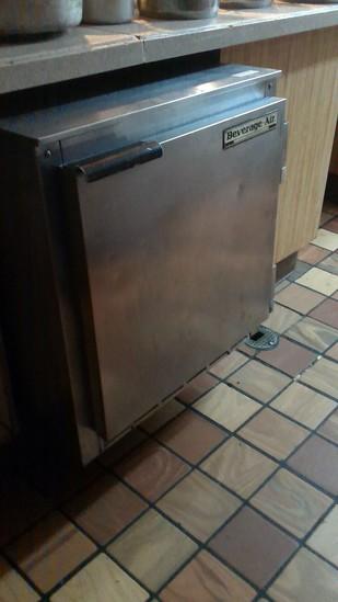 Beverage Air Under Counter Cooler