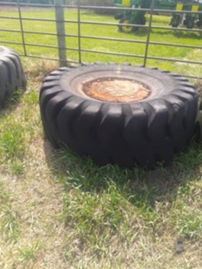 6.5' Tire Tank