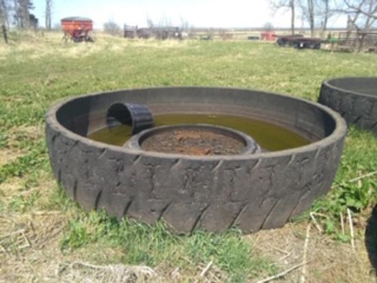 11 1/2' tire tank