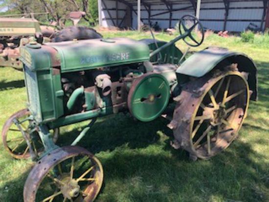 John Deere Steel Wheel Tractor