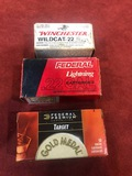 2 Boxes of Federal & 1 Box Winchester .22 LR