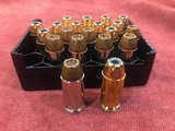 20 Rounds .40 S&W Defense Rounds