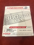 Winchester .380 Auto Target