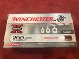 Winchester Super X Target 9mm Luger