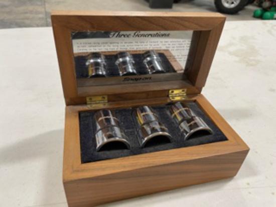 Snap-On Three Generations of Earnhart Commemerative Socket Set