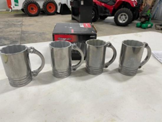 Snap-On Flankard 4pc mug set