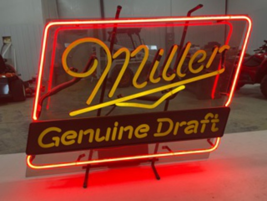 Miller Genuine Draft Neon Lite