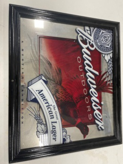 Budweiser Outdoors Hunting Tradition Mirron