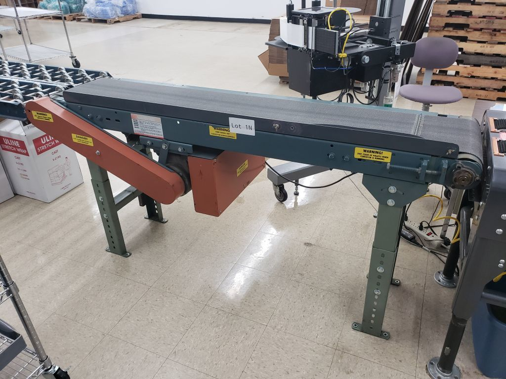 2 ft x 5 ft 9 inches conveyor belt