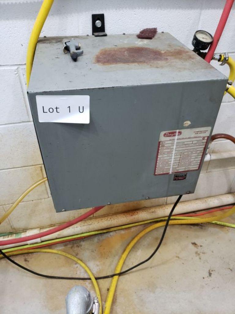 Dayton Compressed Air Dryer