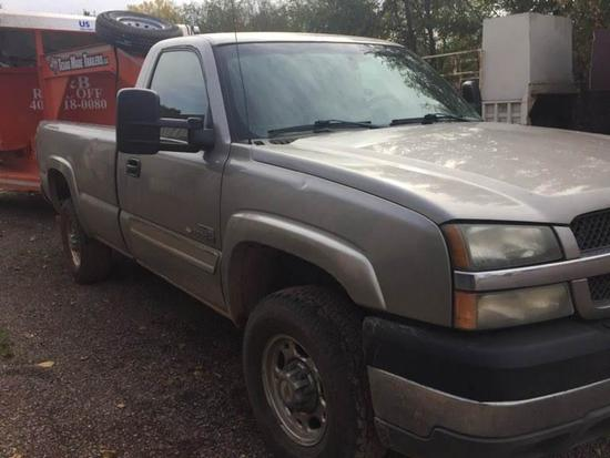 2003 Chevy 2500 2WD