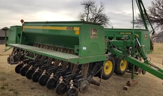JD 455 Grain Drill