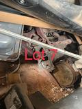 Lot 7: Shed full of misc corvair parts and other items