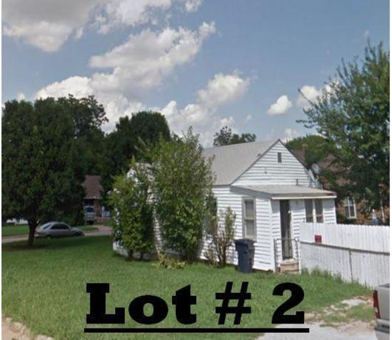 LOT# 2 - 644 SW 45th, OKC - on large corner lot - 2 bed 1 bath, living room, dining room, kitchen